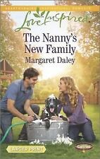 The Nanny's New Family: Caring Canines (Love Inspired Larger Print)