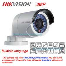 HIKVISION DS-2CD2035-I 3.0MP Outdoor HD DWDR IR Bullet Network POE IP Camera