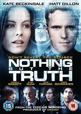 Nothing But The Truth on DVD, 2013 with Kate Beckinsale Matt Dillon
