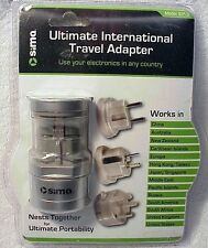 SIMA Ultimate International Travel Adapter SIP-3 | Use in Any Country | From USA