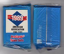 1989 IOWA CUBS ProCards baseball team FACTORY set CHICAGO CUBS~Mark Grace++