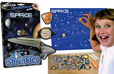 SPACE PLANETS BIG WALL CHART EMBELLISHMENTS SHRINKLES SHRINK ART BUMPER BOX SET