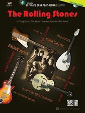 The Rolling Stones Ultimate Easy Guitar Play Along 10 Songs! Tab Book Dvd NEW!