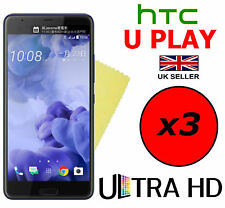 3x HQ ULTRA CLEAR HD SCREEN PROTECTOR COVER FILM GUARDS FOR HTC U PLAY