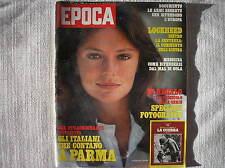 EPOCA 1979 JACQUELINE BISSET CHI CONTA A PARMA LOCKHEED SPECIALE FOTO DI GUERRA