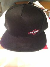 Supreme  black 5 panel independent, f^^k the rest cap F/W15