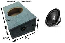 """BMW 3 Series E93 Cabriolet Custom Fit 12"""" Subwoofer Box and JL Audio 12W0 sub"""