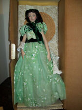 "FRANKLIN MINT SCARLETT O'HARA GONE WITH THE WIND 19"" PORCELAIN DOLL BRAND NEW"