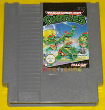 TEENAGE MUTANT HERO TURTLES Nintendo Nes Versione Pal A ••••• SOLO CARTUCCIA