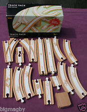 PACK RAIL TRAIN BRIO RAILWAY TRACK PACK BRIO NETWORK COMPLET EN BOITE