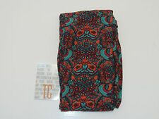 New LuLaRoe Orange Paisley Design Tall & Curvy Size Leggings **Rare Unicorn**