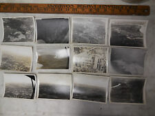 WWII Original Japanese Coast line aerial Photos Japan Photo Lot #11
