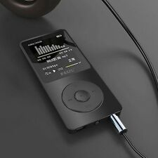 "Ruizu X02 Ultrathin Mp3 Player 4Gb With 1.8"" TFt Display With FM Black Color"