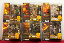 McFARLANE TOYS INFERNAL PARADE SET OF 5 FIGURES NO FETTERS FREAKS...NEW ON CARDS