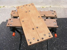 NEW BIRCH MULTI-PLY JAWS FOR  BLACK & DECKER WORKMATE WM536 WITH 8 BOLT FIXING.