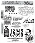 NEW Tim Holtz Stampers Anonymous Stamps Merchantile