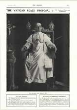 1917 Pope Benedict Xv Mr John Leigh Altrincham Woodbourne Broocklands