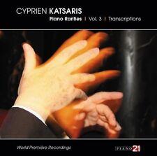Cyprien Katsaris - Piano Rarities 3: Transcriptions [New CD]