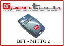 BFT Mod. MITTO 2 D RADIOCOMANDO CANCELLO TELECOMANDO TRASMETTITORE 2 TASTI NUOVO