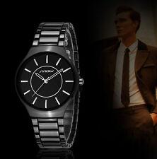 Fashion Luxury Watch Analog Quartz Women Men Stainless Steel Wrist Watch Bl