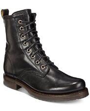 FRYE Veronica Combat Boot Black Soft Vintage Leather sz 6.5 B US NEW