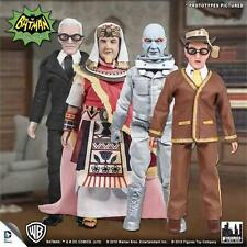 Batman Classic TV 66 Series 4 set King Tut Bookworm Mr. Freeze Alfred wave