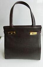 JIL SANDER Leder Tasche Bordeauxrot Birkin Style. GOLDPFEIL Fertigung Offenbach