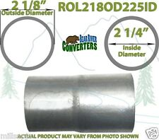 """2 1/8"""" OD to 2 1/4"""" ID Universal Exhaust Component to Pipe Adapter Reducer"""