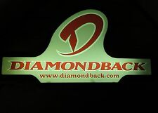 Diamond Back Bike Sign Light Up Electric for BMX Mountain Bicycle Dealer Store