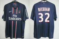 2012-2013 PSG Paris Saint Germain Home Jersey Shirt Maillot Beckham #32 XL BNWT