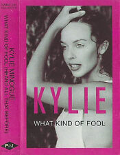 Kylie ‎Minogue What Kind Of Fool CASSETTE SINGLE Electronic Synth-pop 1992 UK