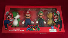SUPER MARIO LARGE SPECIAL 4 PACK FIGURE COLLECTION FIGURES PARTY TOY GIFT