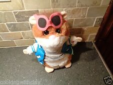 GEMMY SINGING GUINEA PIG SINGS YOU MAKE ME FEEL BY COBRA STARSHIP PLUSH DOLL