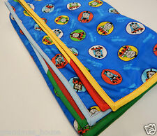 Thomas The Tank Engine Blanket - Fleece Backed - Gorgeous!!! Perfect Baby Gift
