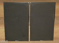 ONE PAIR OF Boston Acoustics A60 Series II Fabric Cover Grills - No Cracks