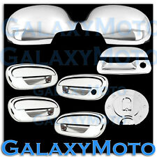 97-03 Ford F150 Chrome Mirror+4 Door Handle+NO KYP+NO PSG KH+Tailgate+GAS Cover