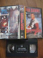 Coups Pour Coups de Deran Sarafian (Jean-Claude Van Damme), VHS, Karaté