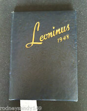 The Leoninus1948 New Holland Pa. High School Year Hard Cover