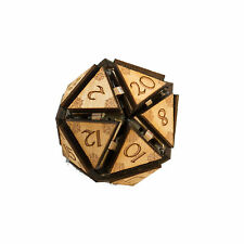 "20 Sided Dice - Art Kit - RAW Wood 1.5""x1.5"""