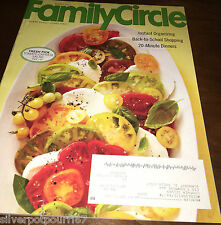August 2013 issue of Family Circle Magazine #150