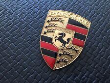 """Original """"Early"""" Porsche 911 Plakette - Emblem -Hood Crest - Fachm. Restauriert!"""