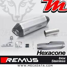 Silencieux d'échappement Remus Hexacone inox avec Pare Chaleur BMW R 1200 R 2016