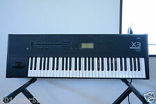 Korg X3 MUSIC WORKSTATION KEYBOARD new internal battery and new belt of FD!