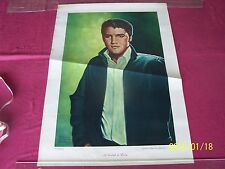 """A Tribute to Elvis"" Pressley Robert Charles Howe LE 2000 Signed Print / Poster"