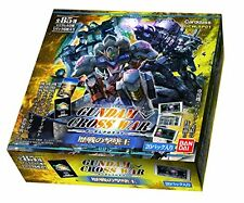 GUNDAM CROSS WAR Extra Booster veteran GCW-SP01 BOX Japan