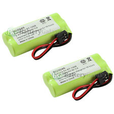 2 Cordless Home Phone Rechargeable Battery 350mAh NiCd for Uniden BT-1008 BT1008