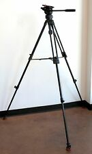 Sachtler ENG 75/2D Aluminum Tripod w/ DV-1 Fluid Video Head & Padded Fitted Case