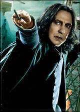 Harry Potter Professor Snape with Wand Photo Image Refrigerator Magnet, NEW