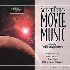 101 Strings Orchestra Science Fiction Movie Music CD