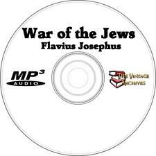 The War of the Jews - Unabridged Audiobook MP3 CD - Flavious Josephus
